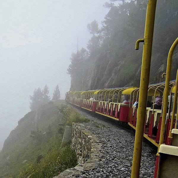 El Tren de Artouste, un pequeño tren de gran altura