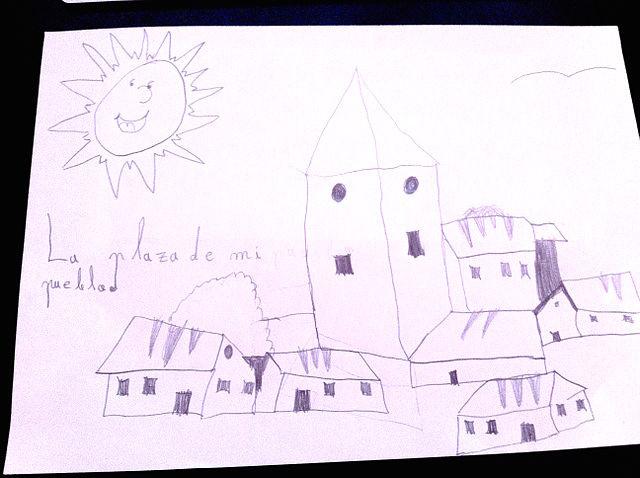 La historia de la plaza de mi pueblo Ainsa, Plan, Barbastro y Sallent