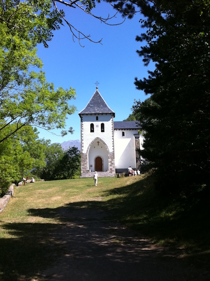 Ermita de Santa Elena, cerca de Biescas