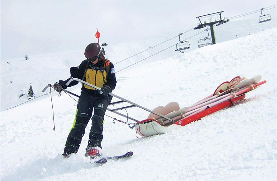 Las señales y normas en las estaciones de esquí