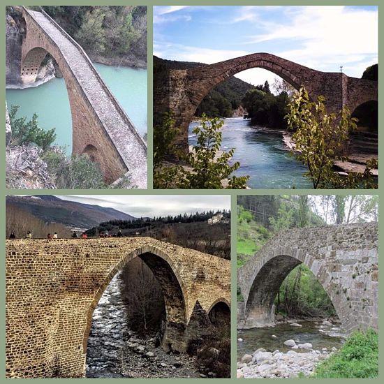 Puentes románicos en el Pirineo Aragonés