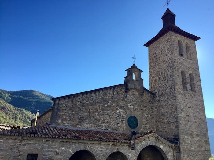 Iglesia de San Salvador en Biescas