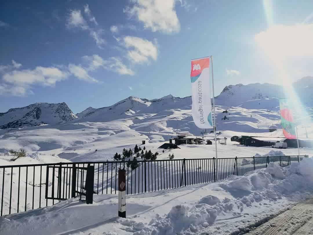 Estacion de esqui Formigal Aramon